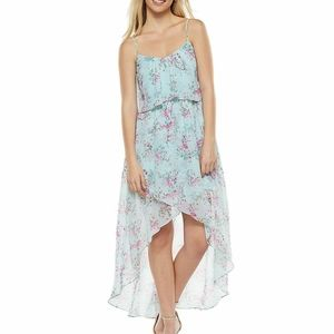 DISNEY'S CINDERELLA Floral High Low Dress